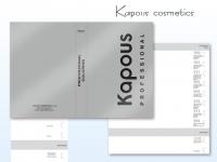Kapous Cosmetics палитра на краску 100мл