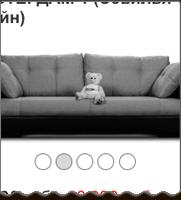 Мобильная версия для интернет-магазина диванов Heggi