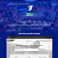 Проектирование нового сайта для телепрограммы Жди Меня (10+ страниц)