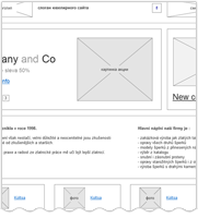Прототип сайта-визитки