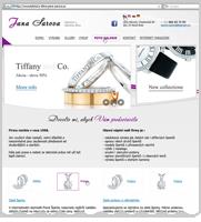 Сайт визитка - ювелирные изделия