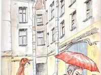 Иллюстрация в журнал