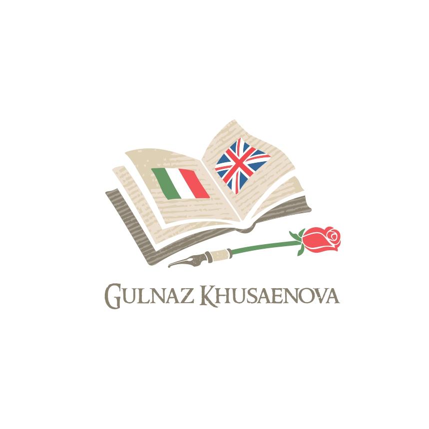 Логотип для девушки переводчика