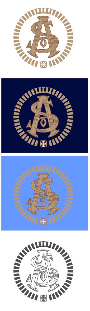 Логотип-монограмма. AS