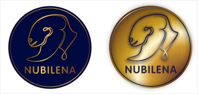 Логотип для частной фермы нубийских коз