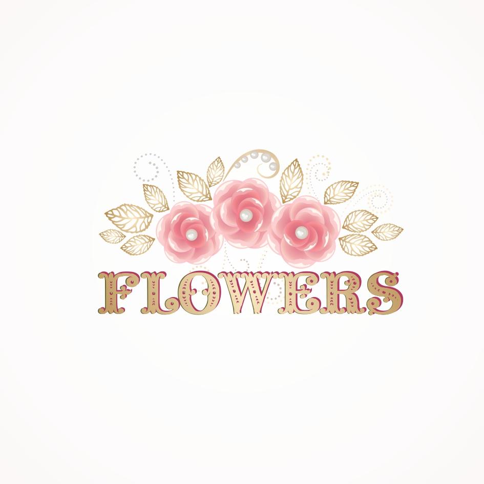 Разработка цветочной виньетки