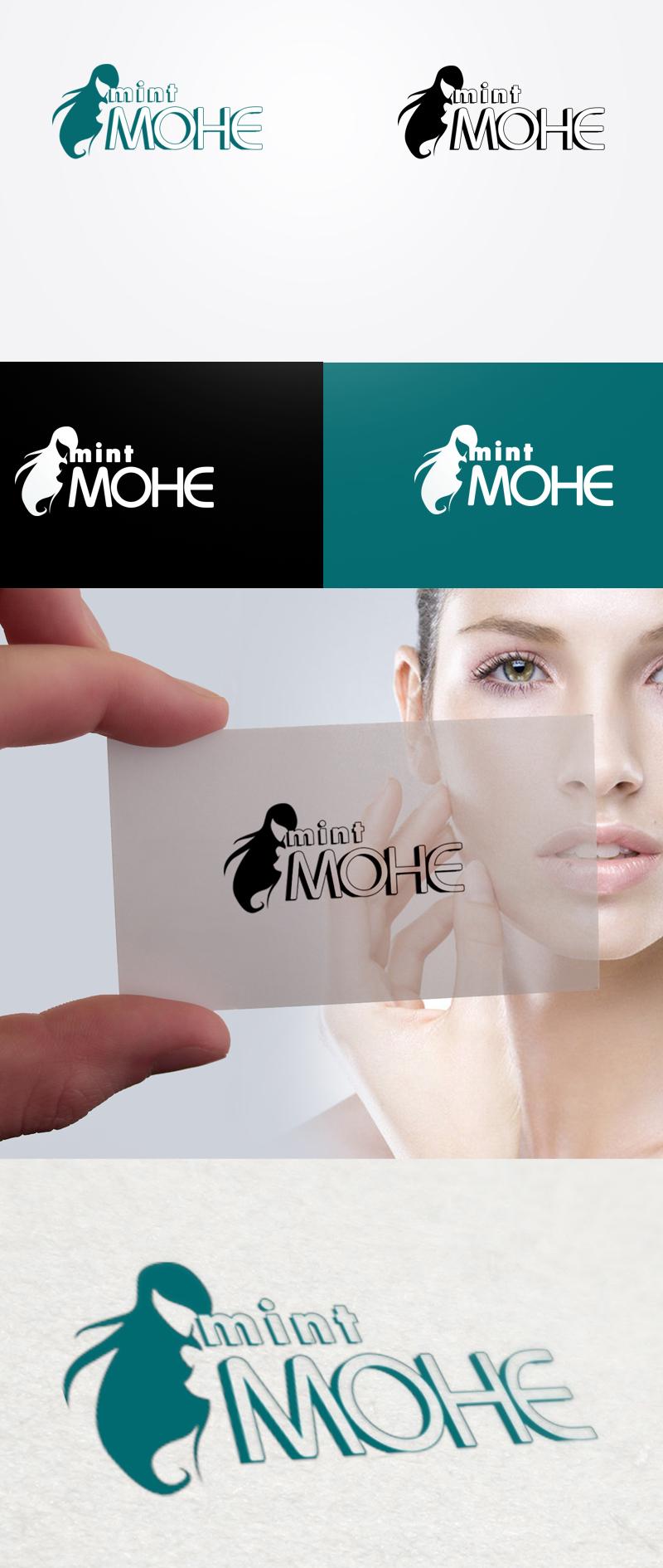 Логотип для второй линии салонов красоты МОНЕ