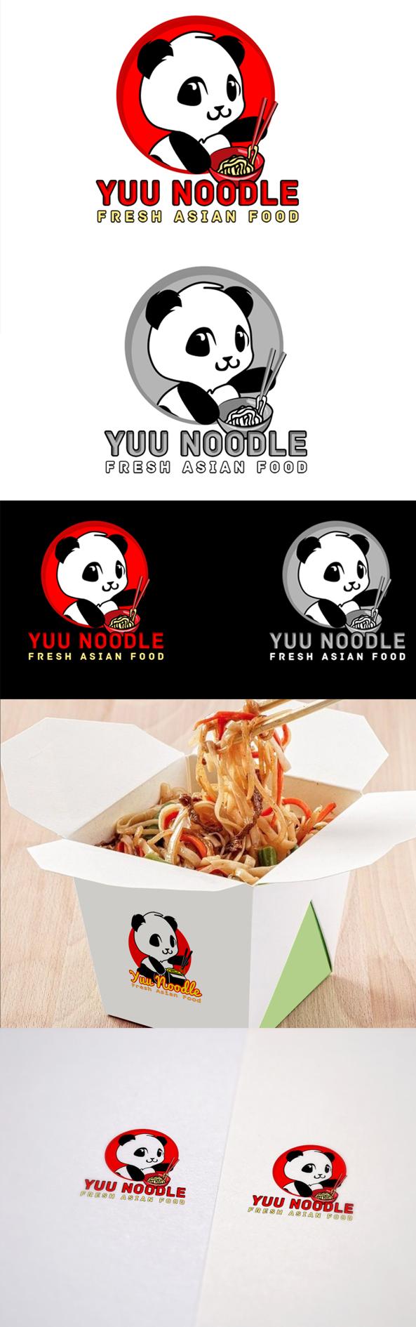 Логотип для кафе китайской кухни