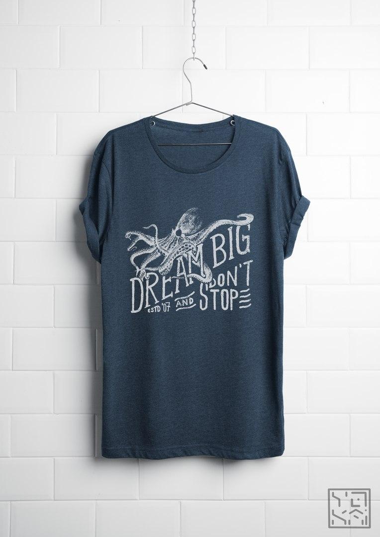 Octopus #2 (T-shirt design)