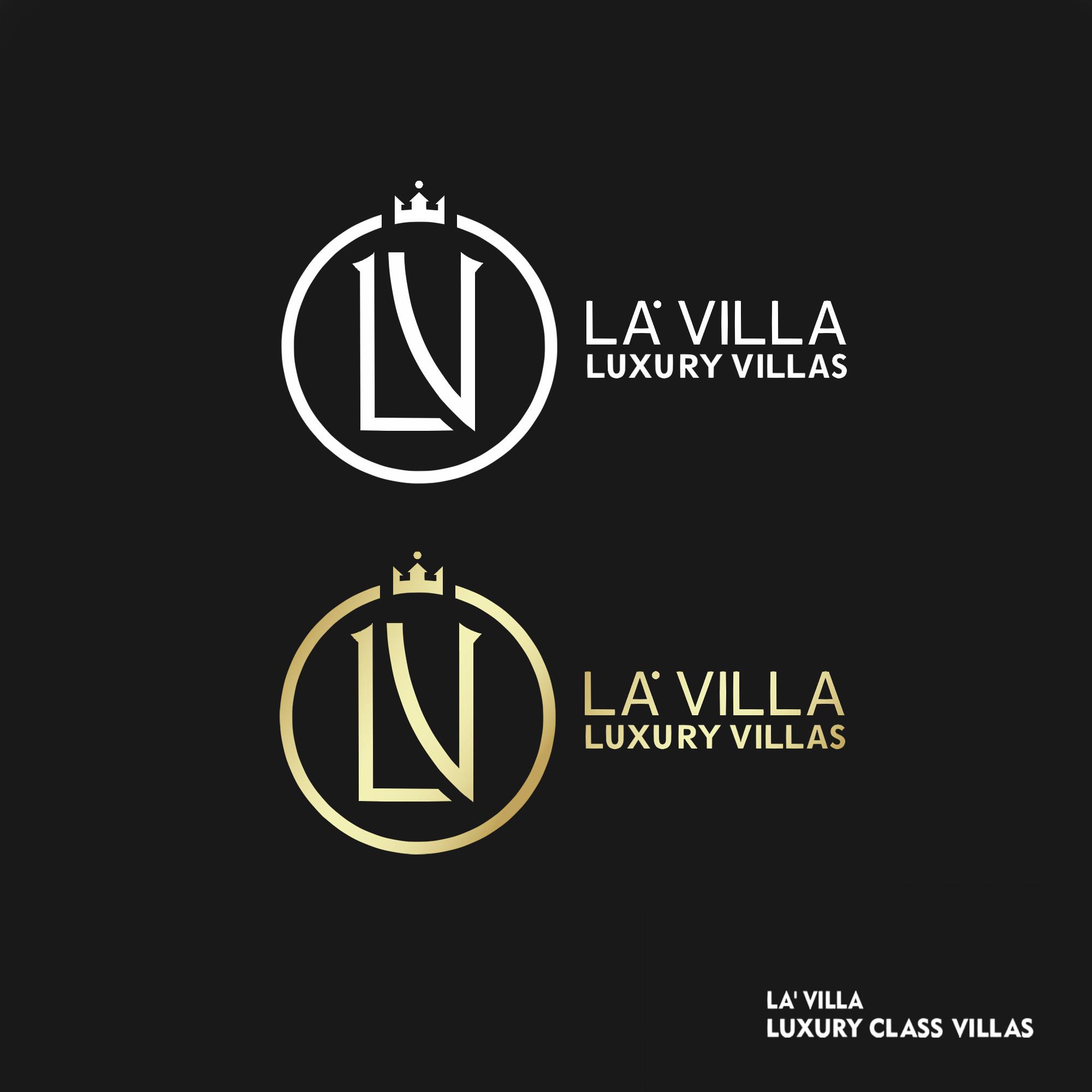La' VIlla (logo design)