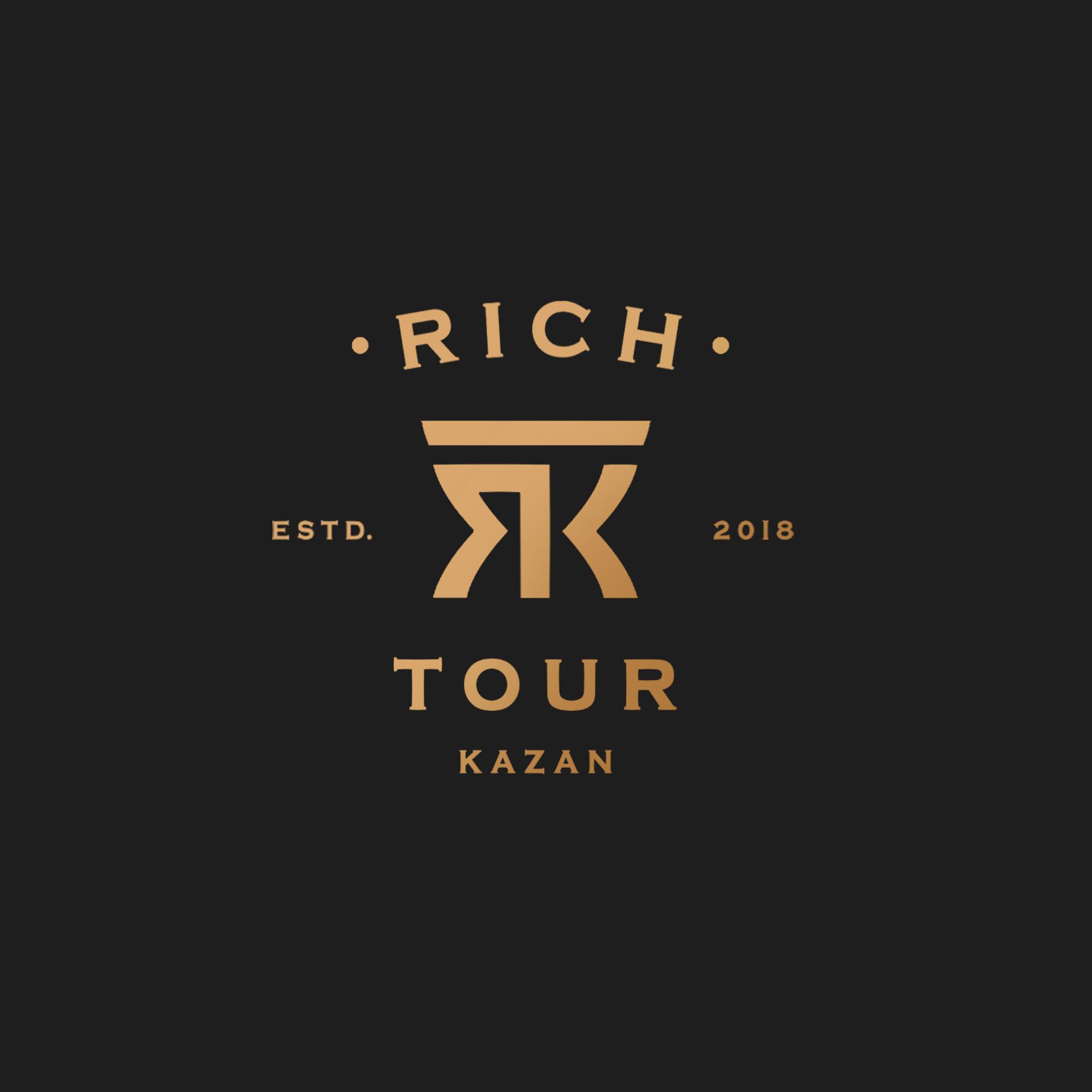 Rich Tour Kazan #2 (logo design)