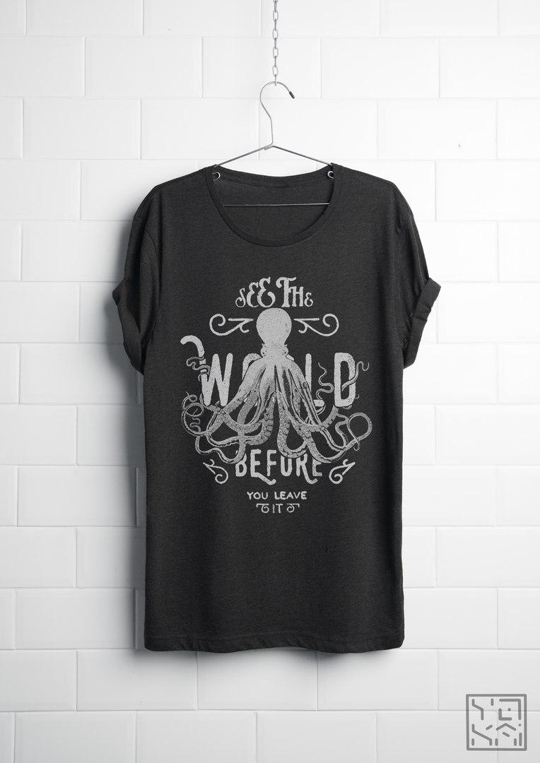 Octopus (T-shirt design)