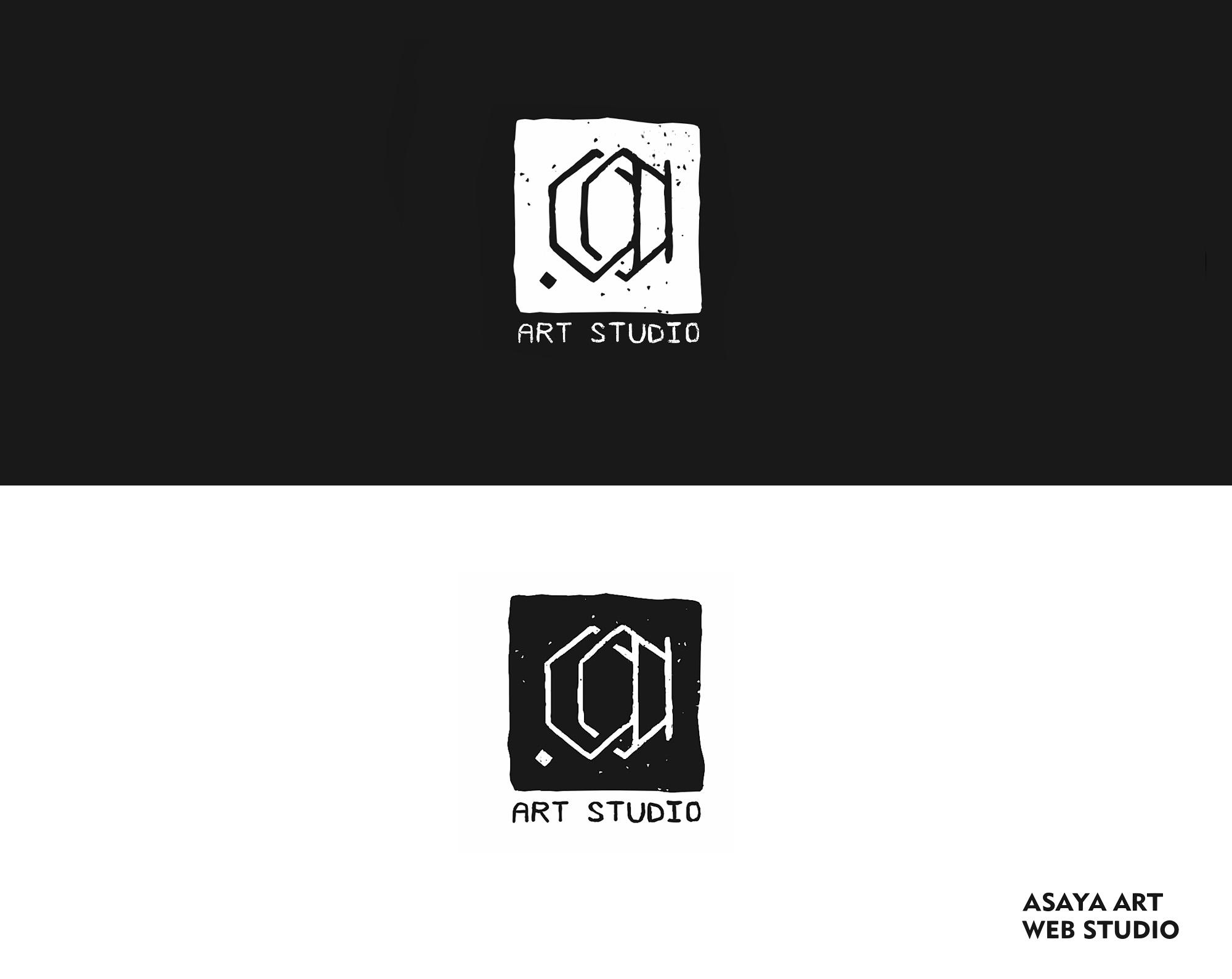 Asaya Art studio (Logo design)