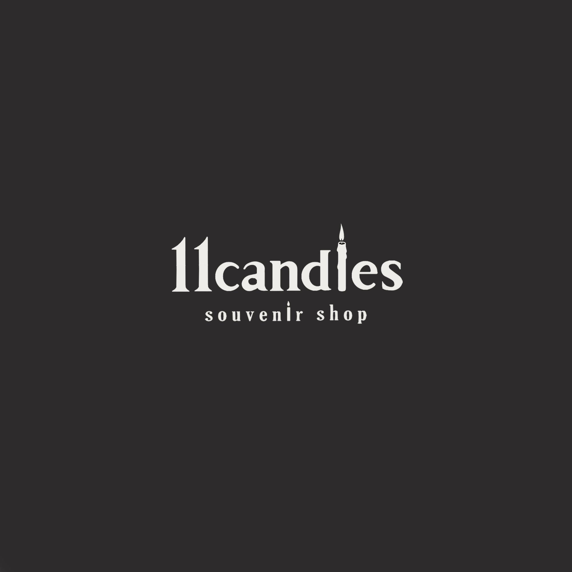 11 Candles (logo design)