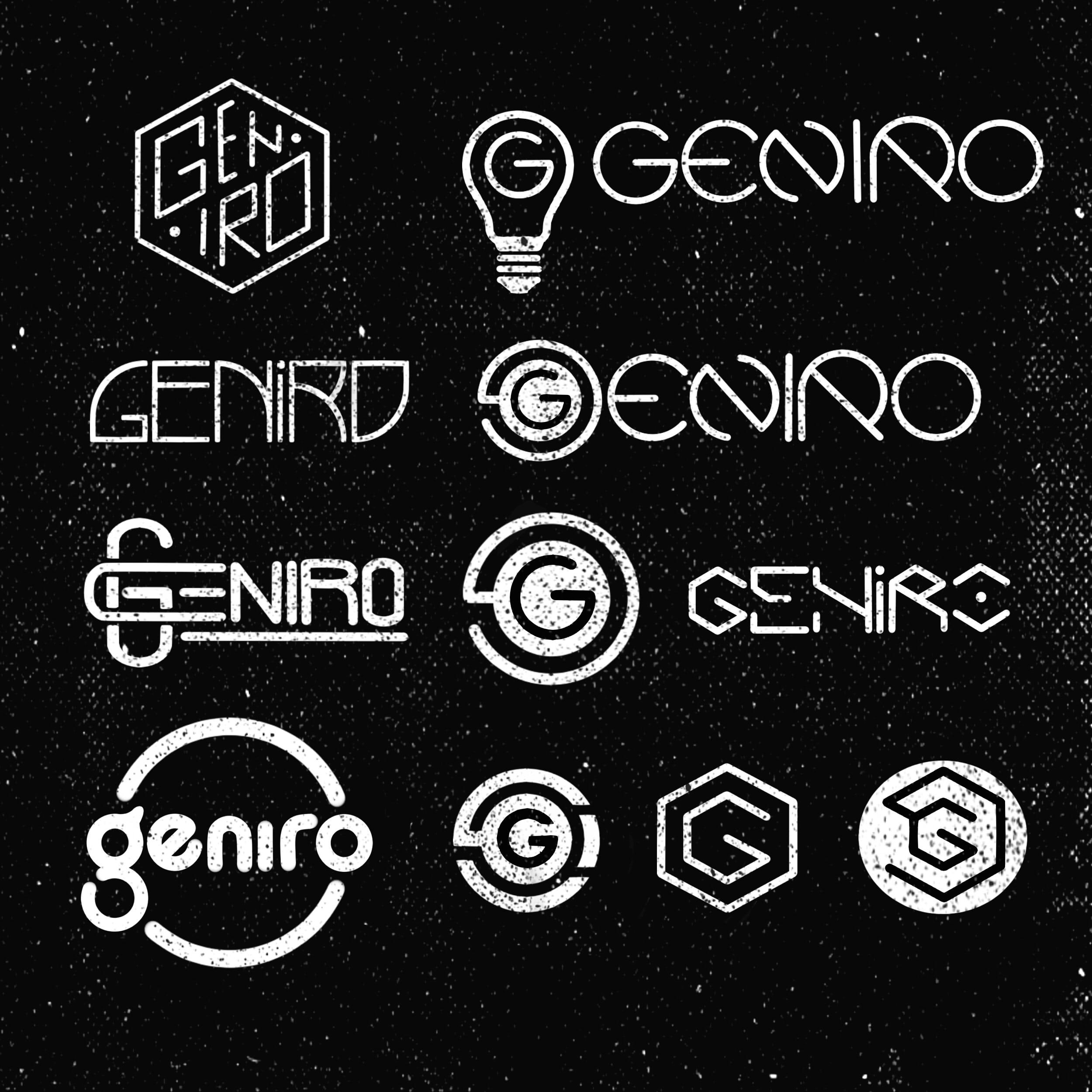 Geniro logo design