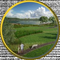 Ландшафтный дизайн под ключ 50 соток