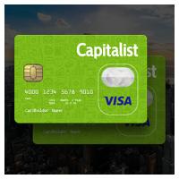 Сайт для финансовой компании Capitalist