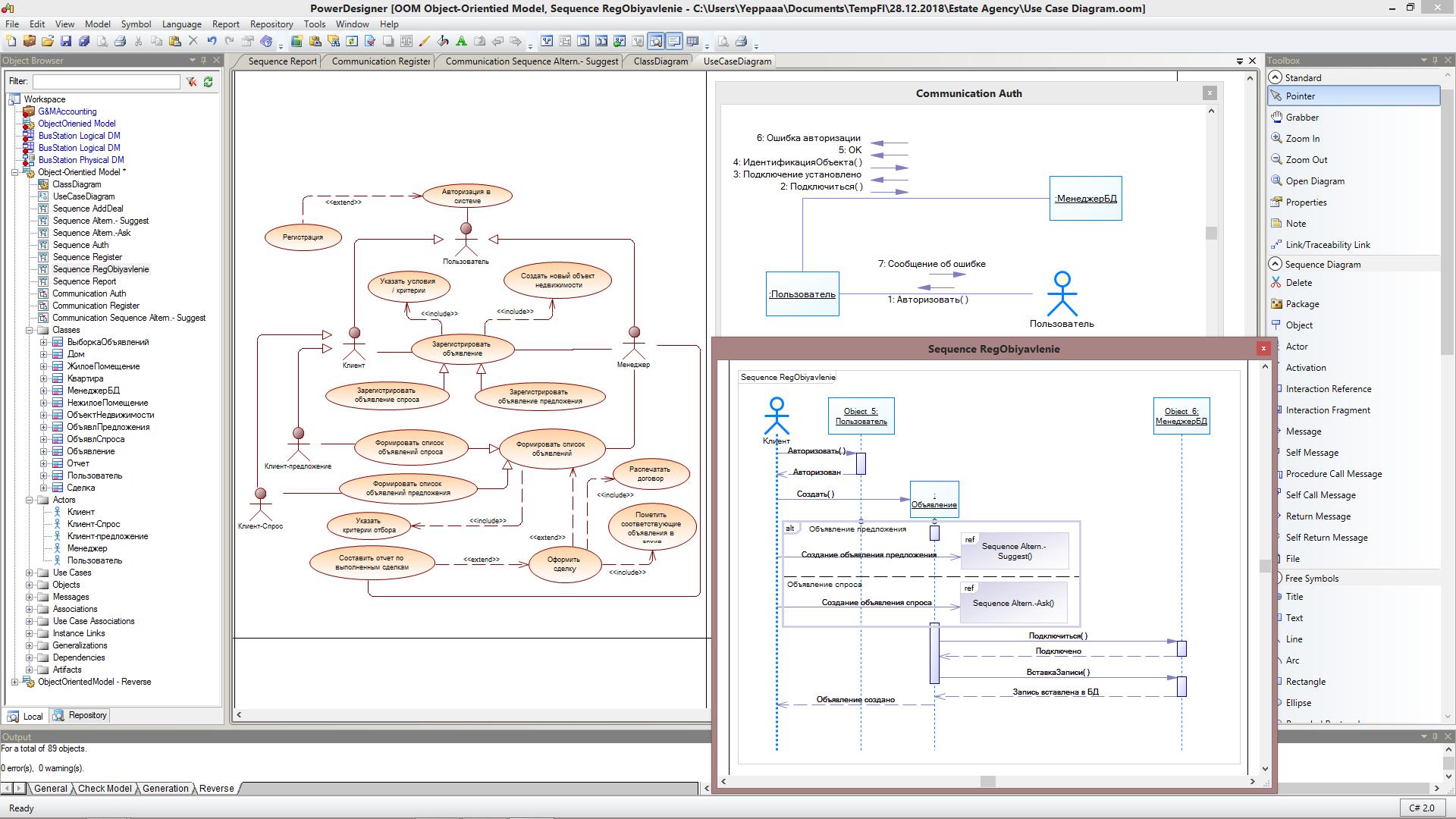 UML - модели