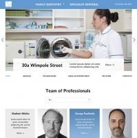 Сайт стоматологической клиники в г. Лондон