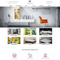 Сайт-каталог мебельного ТЦ
