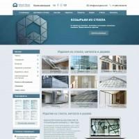 Сайт компании Wood Glass