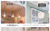 Сайт для ресторана Philibert