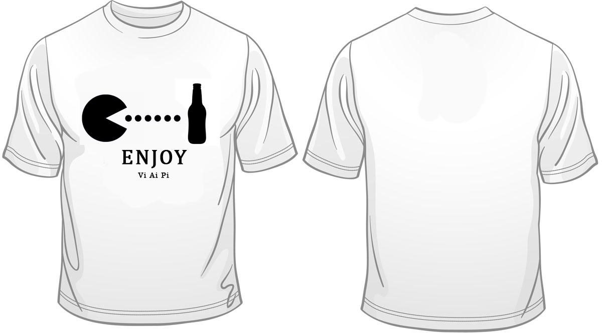 Дизайн футболки (бар)