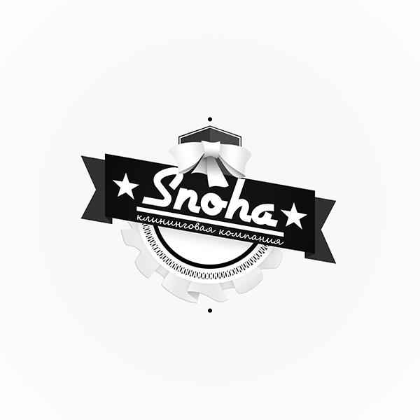 Логотип клининговой компании, сайт snoha.ru фото f_23854adc62a372bf.png