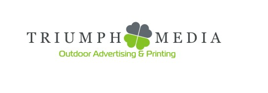 Разработка логотипа  TRIUMPH MEDIA с изображением клевера фото f_5072dcfec1cfd.jpg