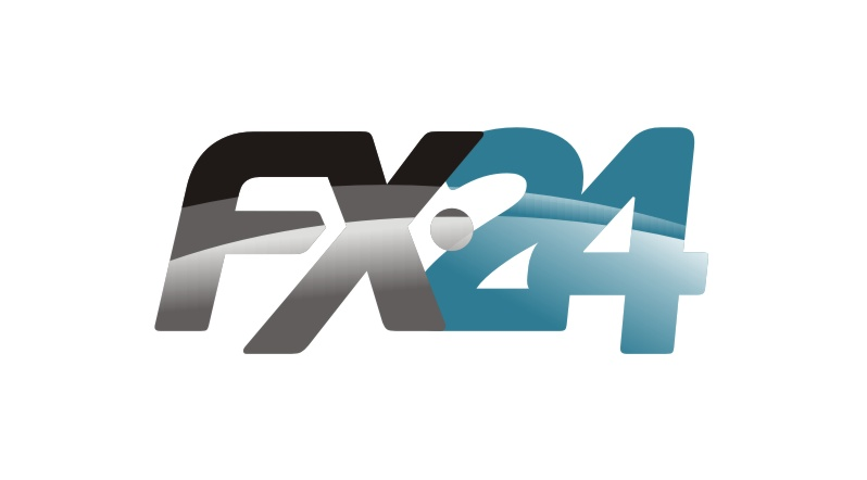 Разработка логотипа компании FX-24 фото f_641545275300a281.jpg
