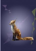 лиса триангуляция оригами