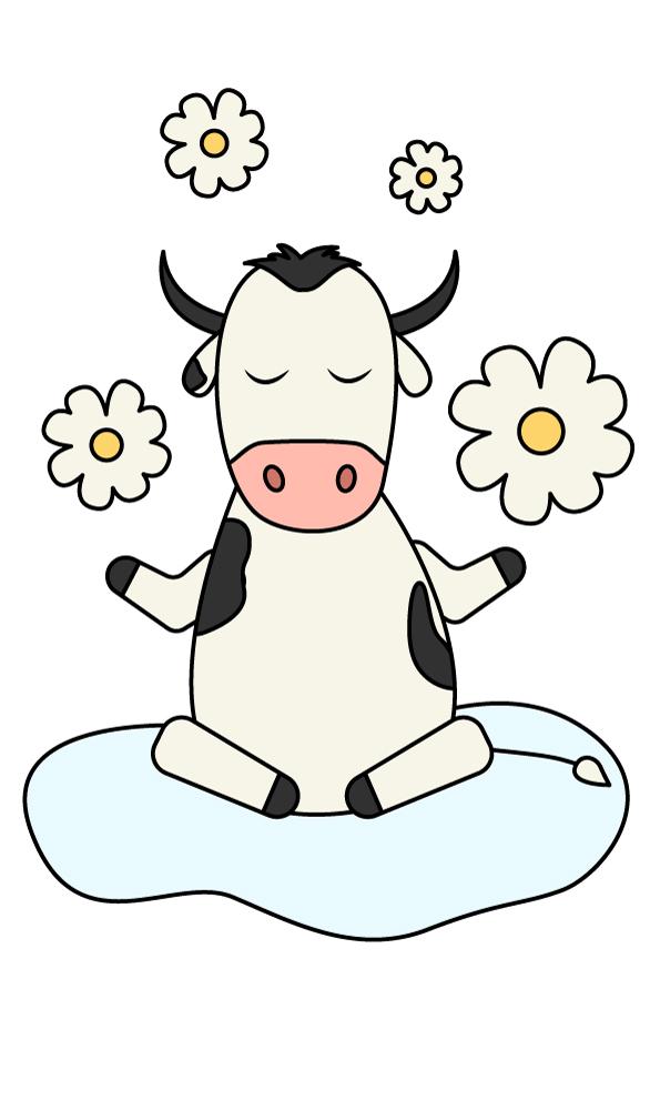 Создать рисунки быков, символа 2021 года, для реализации в м фото f_4355eea04f5bff8d.jpg