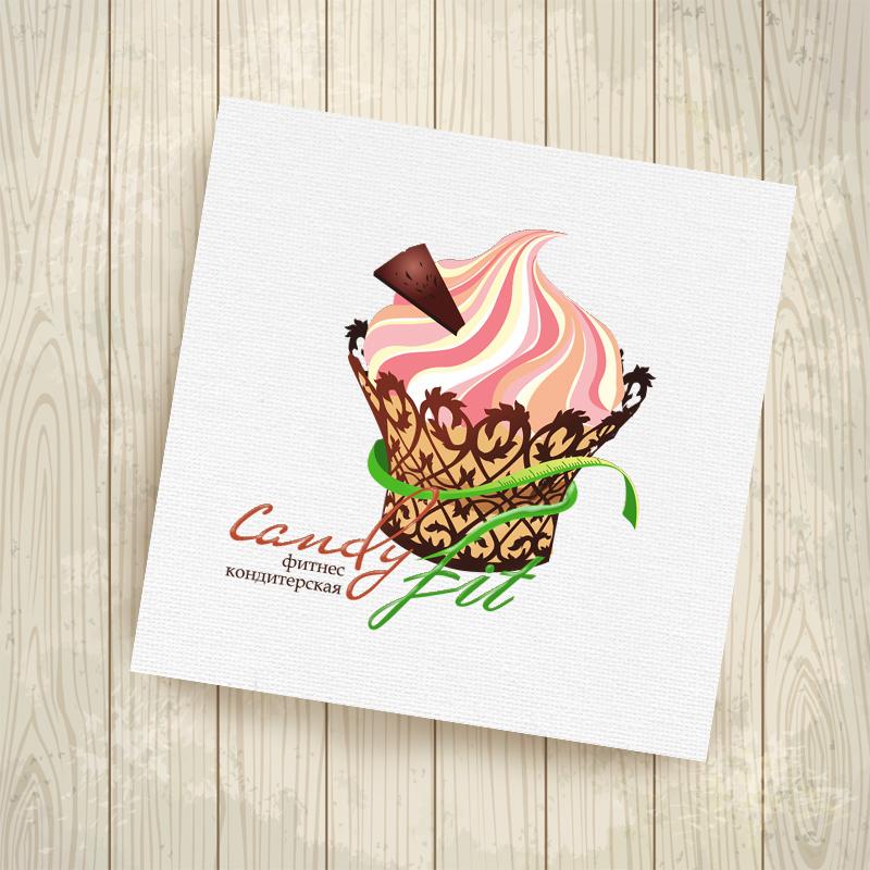 "Разработать логотип для ""CandyFit"" фото f_28551f14b775b12c.jpg"