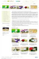 Натуральная косметика ручной работы, Главная страница