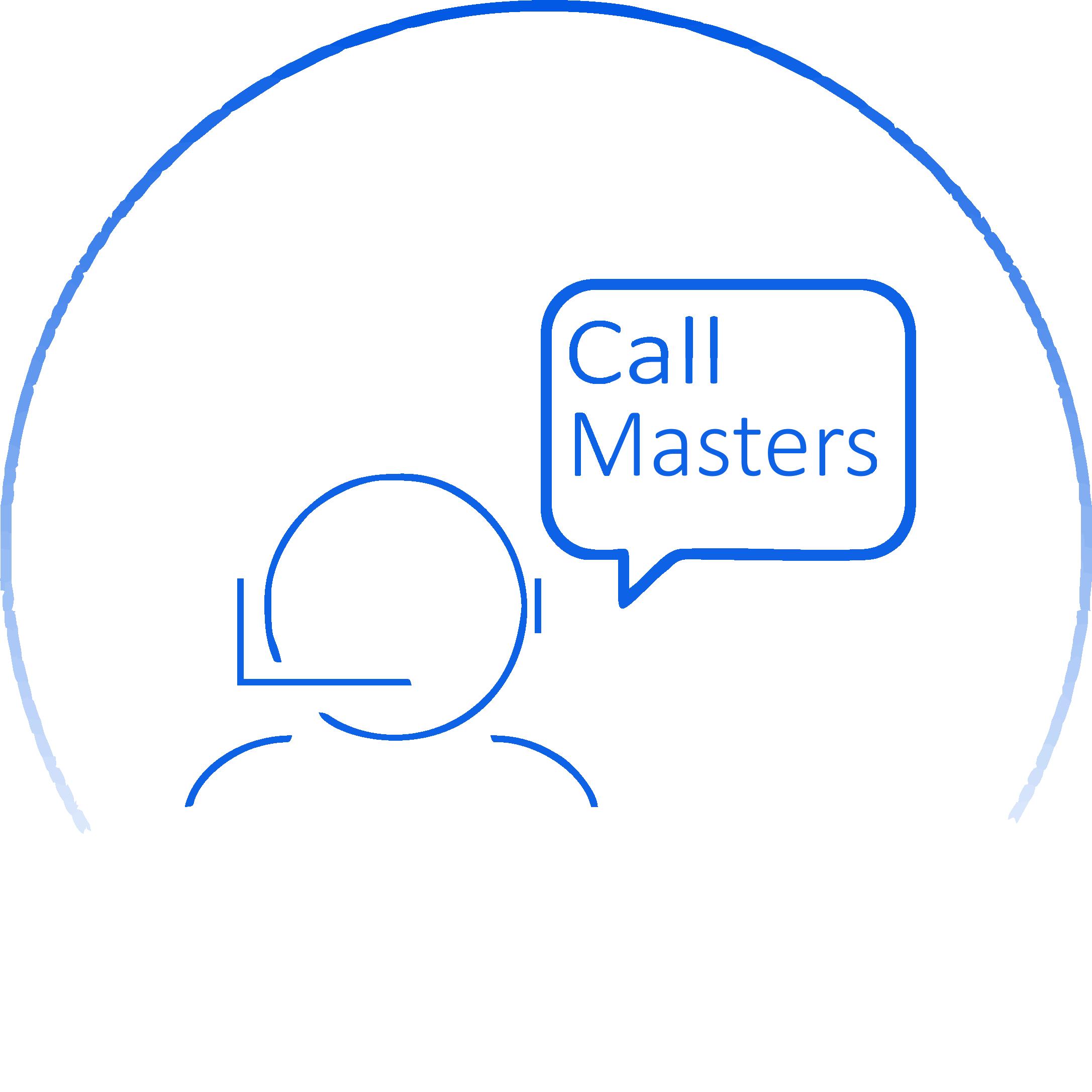 Логотип call-центра Callmasters  фото f_2325b69ef7193dd5.png