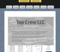 Сайт TopCrew Yii2