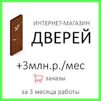 Рост интернет-магазина дверей