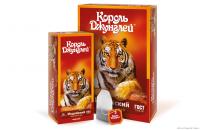 Редизайн линейки чая ТМ «Король джунглей».