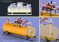 Визуализация dwg-модели технологического узла [1]