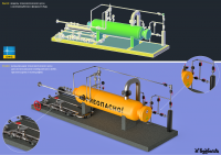 Визуализация dwg-модели технологического узла [2]