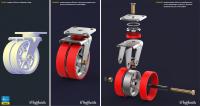 Визуализация dwg-модели оборудования (взрыв-схема) [3]
