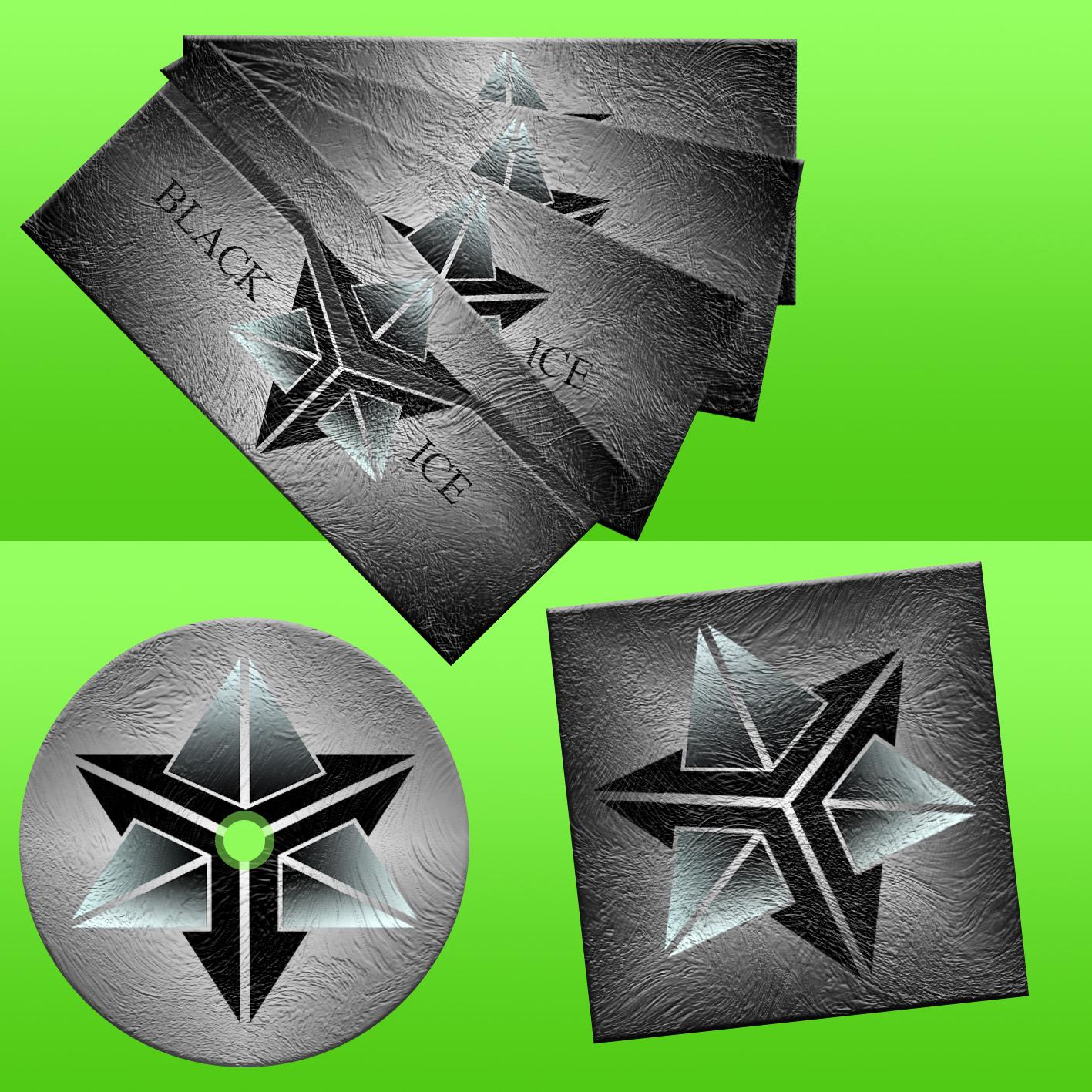 """Логотип + Фирменный стиль для компании """"BLACK ICE"""" фото f_14056f0210283008.jpg"""