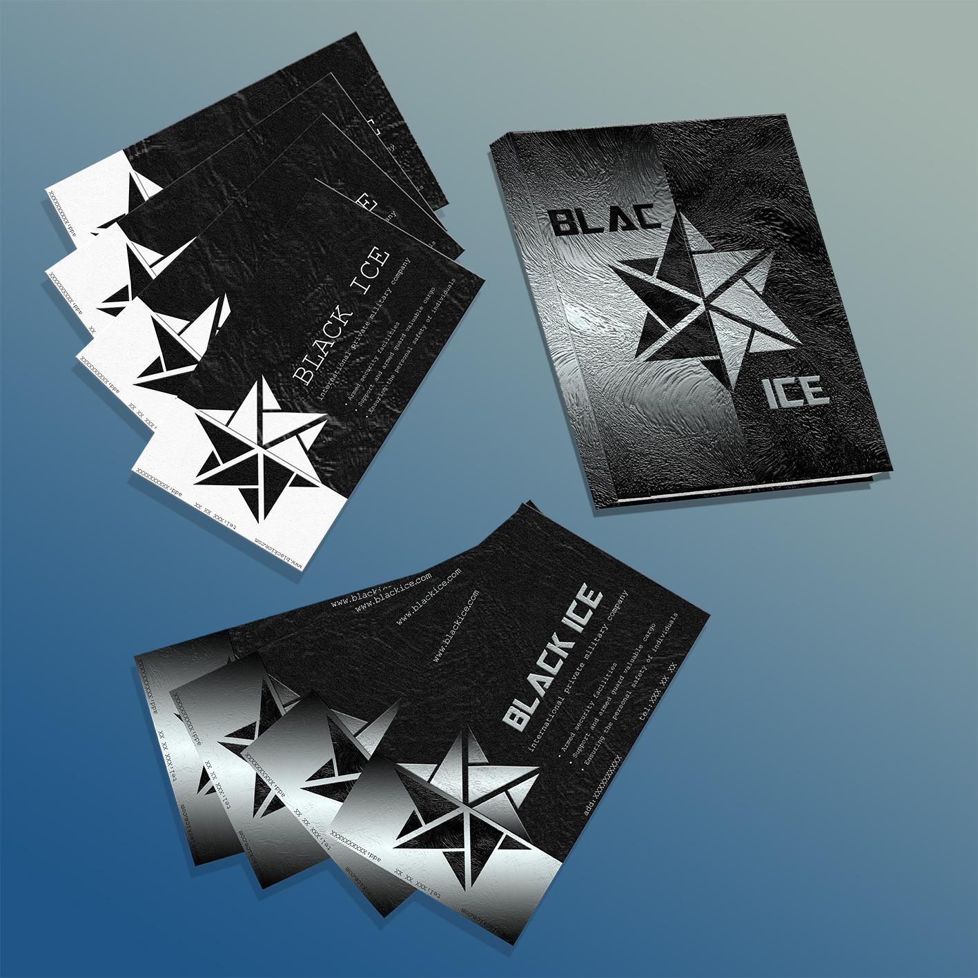 "Логотип + Фирменный стиль для компании ""BLACK ICE"" фото f_70956ef578070312.jpg"