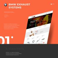 """""""BMW"""" запчасти и эксклюзивные коллекторы / Магазин (Под ключ - Bitrix / Figma)"""