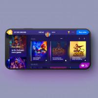 Игровое приложение / Интерфейс (Дизайн - Figma)
