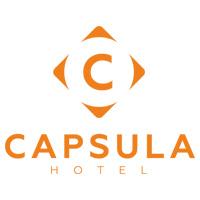 Capsula Hotel | Капсульный отель | Логотип