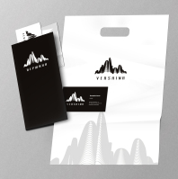 """""""Вершина"""" - логотип и фирменный стиль"""