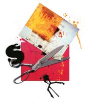 Компьютерная графика ножницы