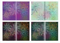 Полиграфия цветочные формы