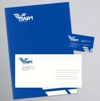 """Торговая компания """"Тайм"""" - логотип и фирменный стиль"""